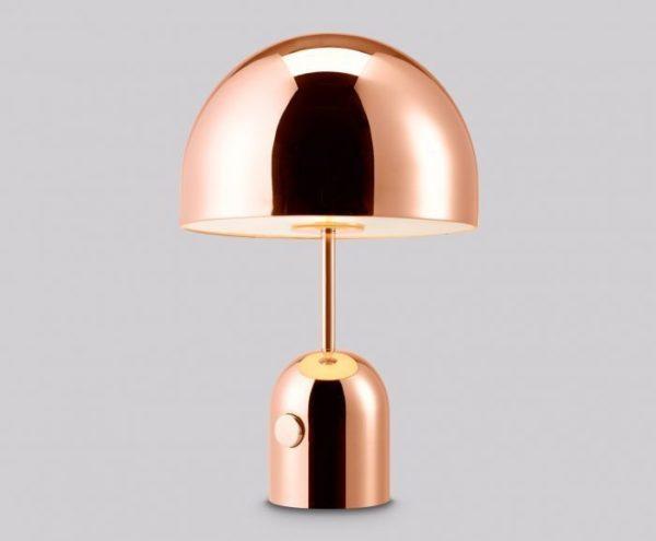 Bell Copper Table Light