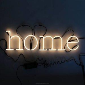 """NEON ART """"HOME"""""""
