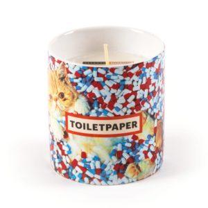 Candle Cat Toiletpaper