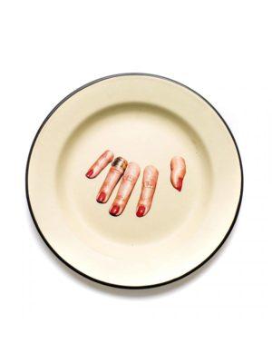 Fingers Enamel Plate