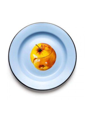 Apple Enamel Plate