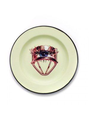 Eye Enamel Plate
