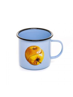 Apple Enamel Mug