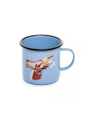 Bird Enamel Mug