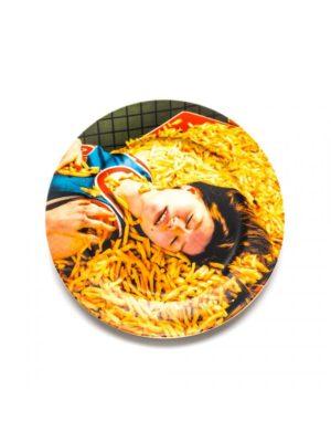 Chips Porcelain Plate