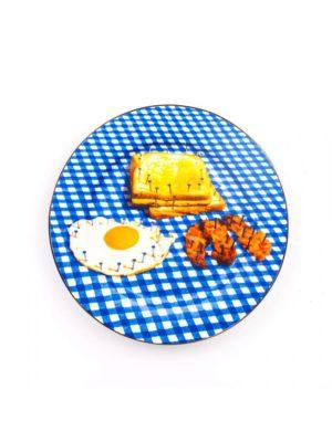 Breakfast Porcelain Plate