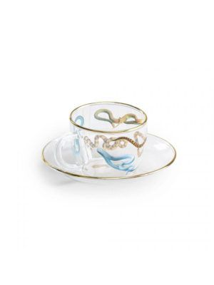 Coffee Glass Snakes Toiletpaper