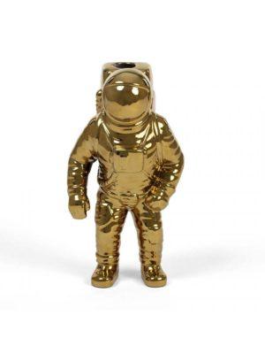 Starman Vase Gold Cosmic Diner