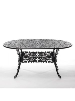Aluminium Oval Table Industry Collection