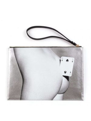 Pouch Bag Two of Spades Toiletpaper
