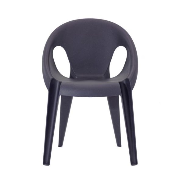 Magis Bell chair midnight recycled polypropylene